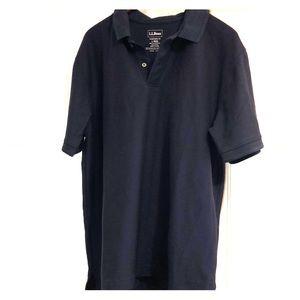 Navy blue LLbean shirt
